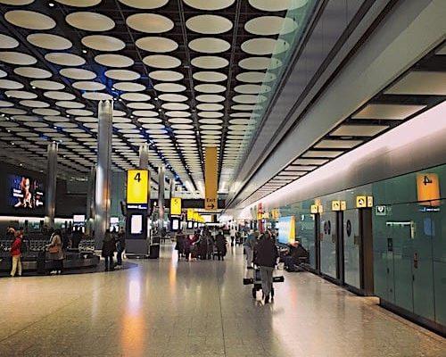 Connemara in Heathrow gelandet