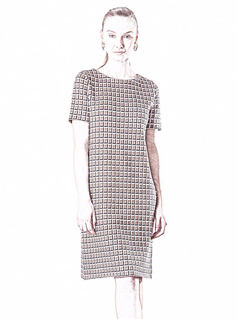 Connemara Strickkleid Daria aus 100% Baumwolle