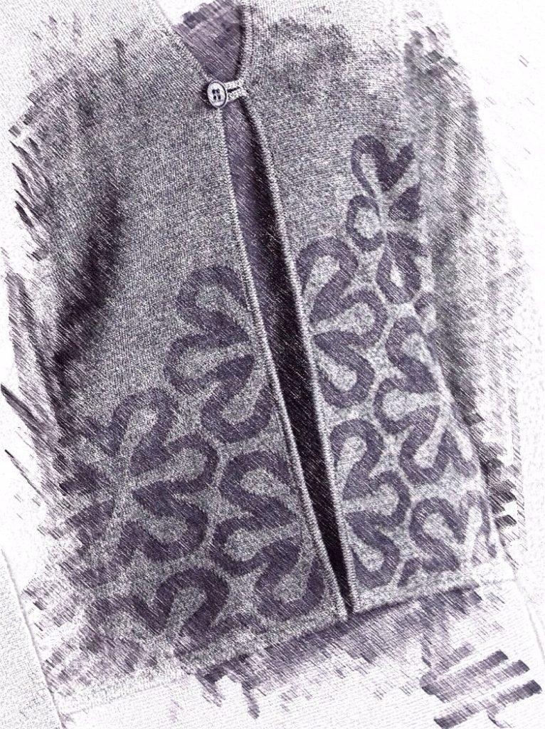 Connemara Strickdetail: Kreuzschlauch aus reiner Merinowolle extrafein