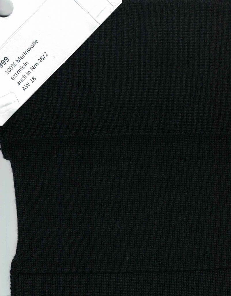 Merinowolle Farbe schwarz