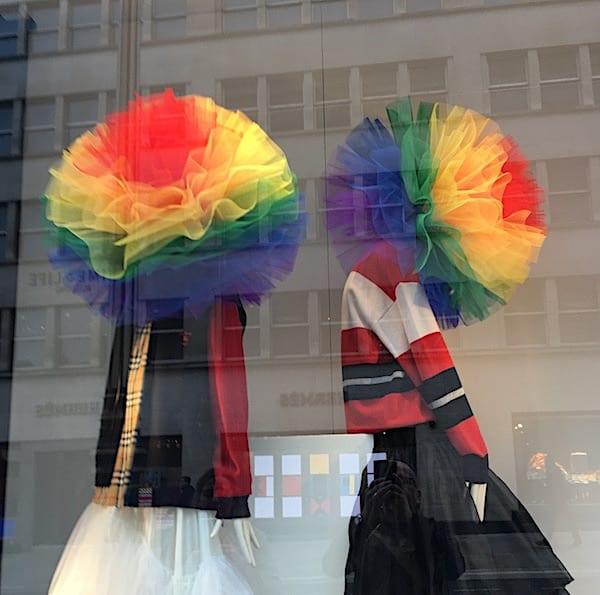 Schaufenster in London