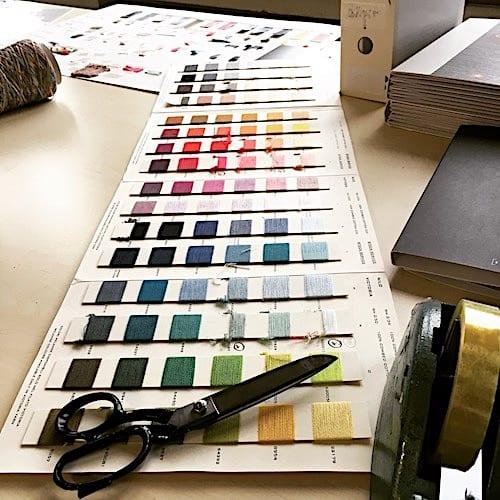 Farbauswahl für die Connemara Kollektion |Marchi & Fildi