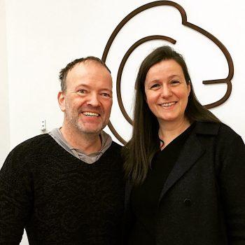 Jens König und Tina Wrede bei Just Merino in Potsdam