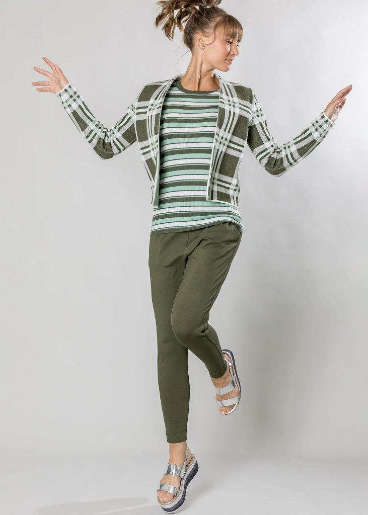 Connemara Jacke Avril aus Baumwolle |Hose Gina aus Viskose - Elasthan | Made in EU