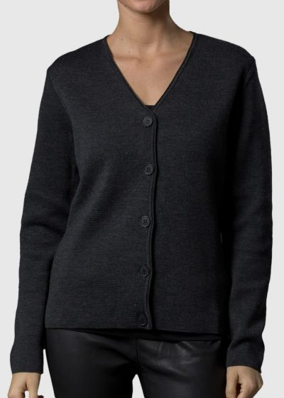 Strickjacke mit Knöpfen Damen Betty