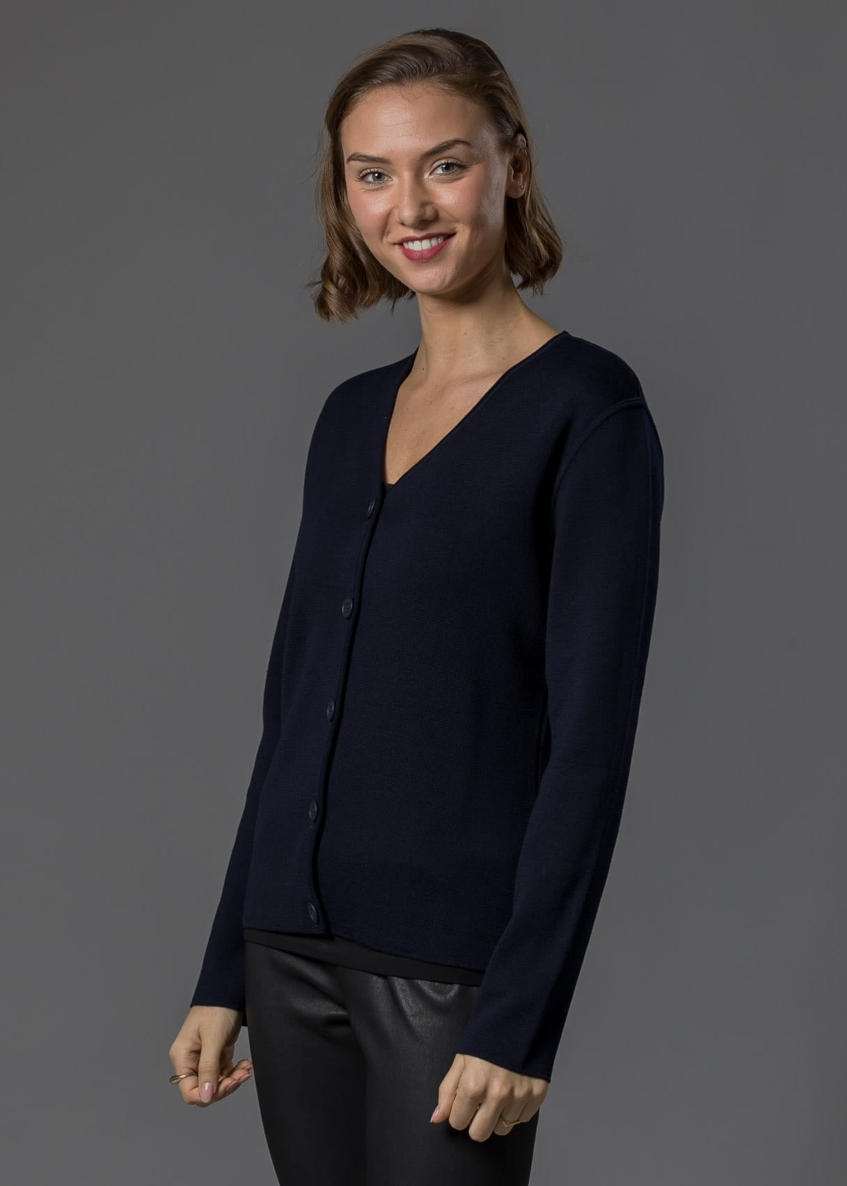 Betty Jacke Merino marine