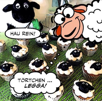 Connemara Blog Comic | Tierischer Besuch | Teil 2