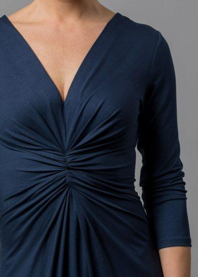 V-Ausschnitt Kleid Connemara