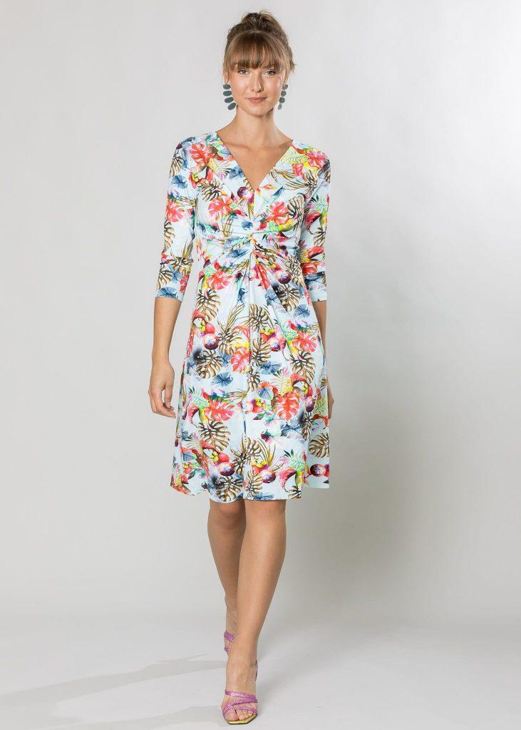 Connemara Kleid Gabriela aus Baumwolle mit Lycra | Made in EU