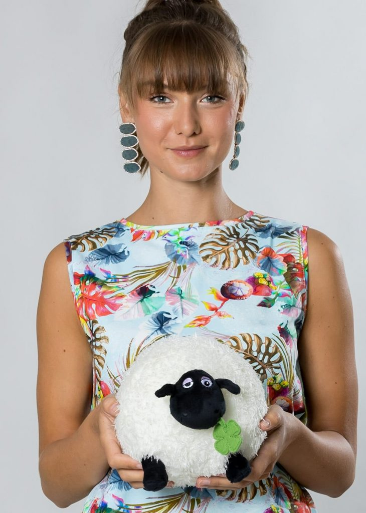 Connemara Top Gitte aus Baumwolle mit Lycra | Made in EU