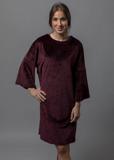 kuscheliges Kleid aus Stretchsamt von Connemara