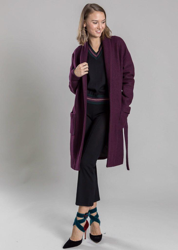 Connemara Mantel Ludmilla aus Wolle