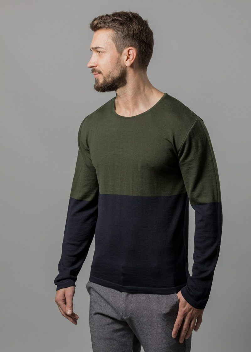 Rundhals Pullover Herren Tim von Connemara