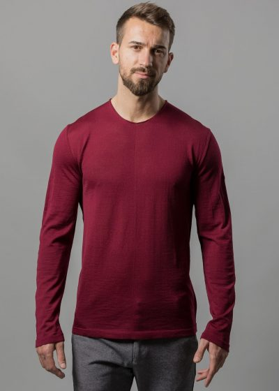 herren pullover bordeaux von connemara