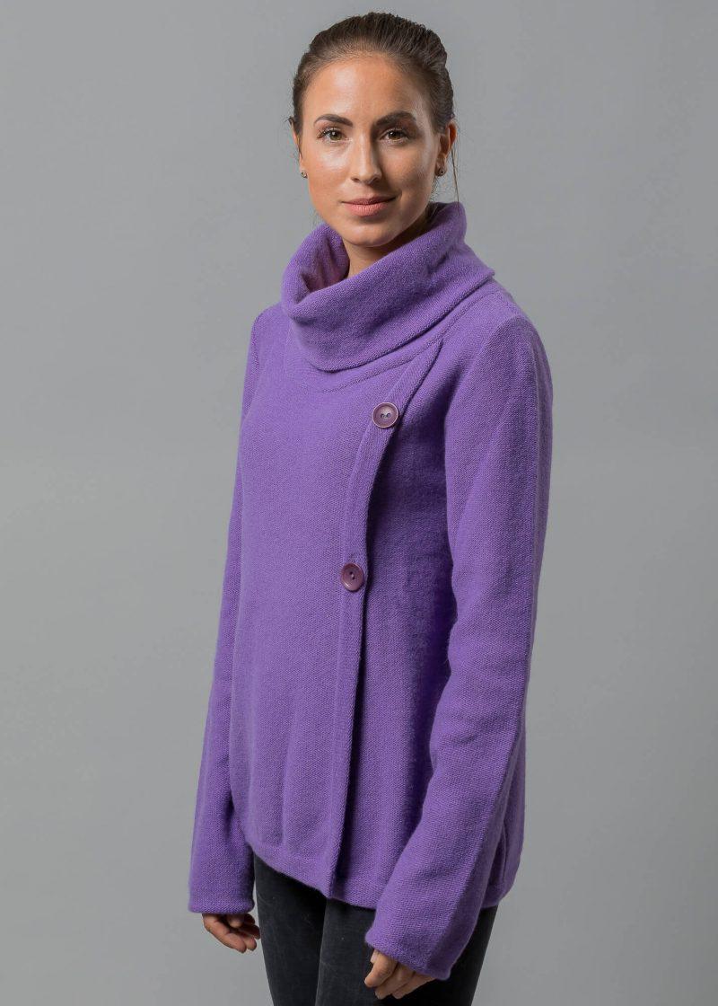 pullover damen flieder von connemara