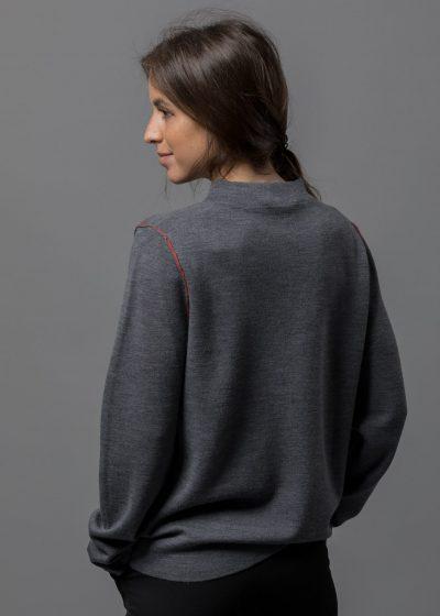lässiger Pullover für Damen aus superfeiner Merinowolle von Connemara