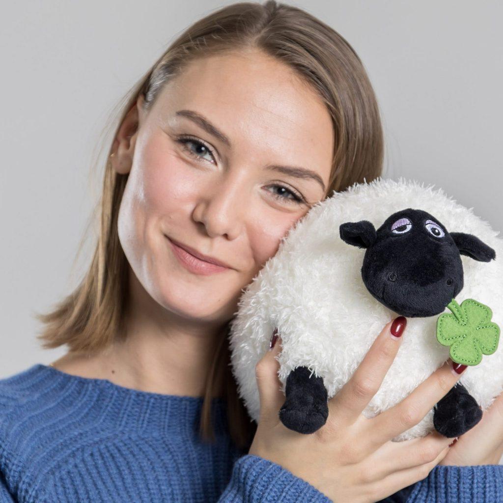 Connemara Pullover Rossana aus Wolle-Kaschmir-Mix