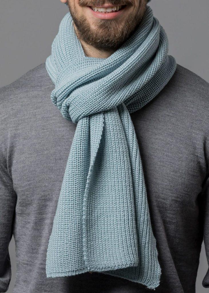Schal von Connemara in mint