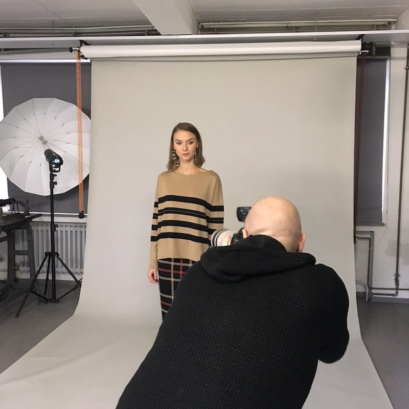 Shooting der Connemara Herbst-Winter-Kollektion 2018 / 2019
