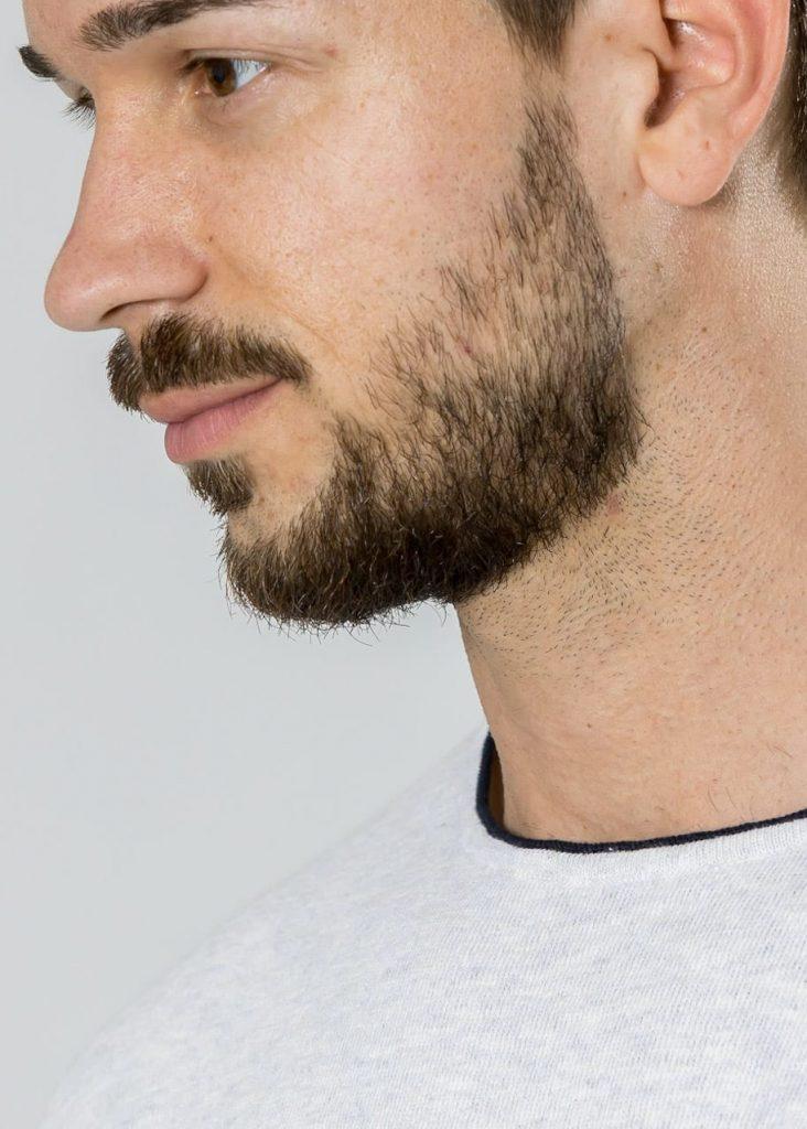 Connemara Pullover Victor aus Leinenmix in weiß | Made in EU