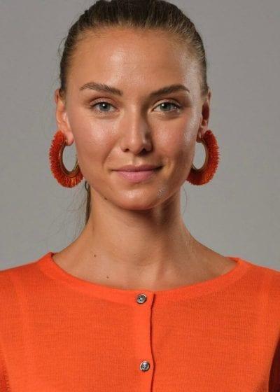 Connemara - Großaufnahme Jacke in orange