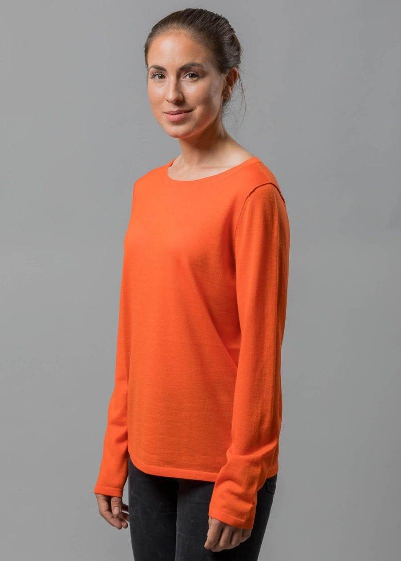 Leichter Pullover Damen Susann Connemara aus Merino Superfein