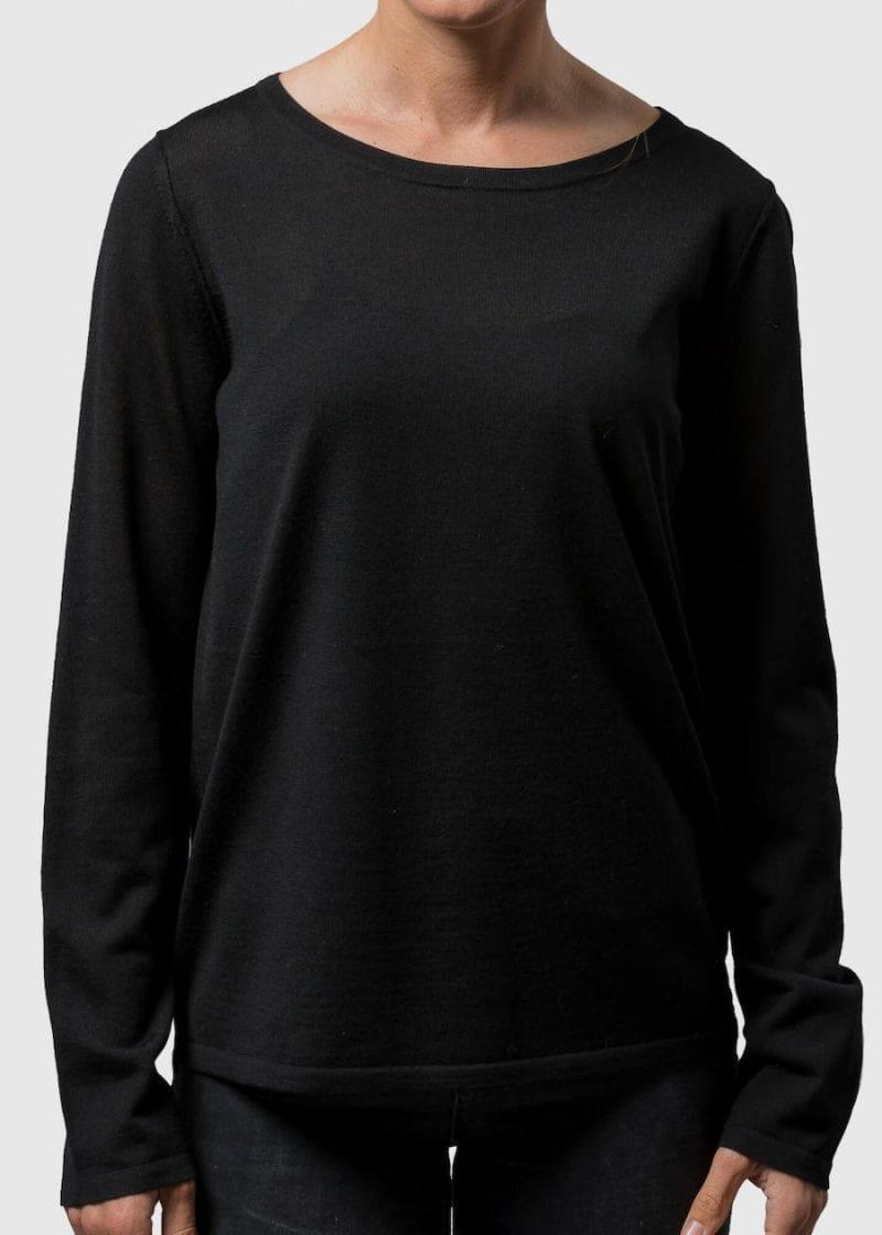 Dünner Pullover Damen Susann Connemara aus Merino Superfein