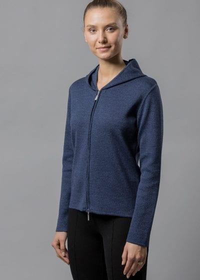 Kapuzenjacke Damen blau von Connemara