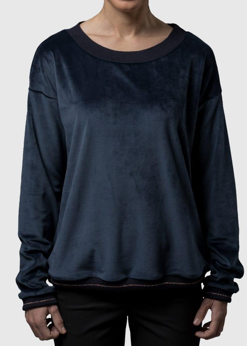 Samt Sweatshirt Damen Kora von Connemara