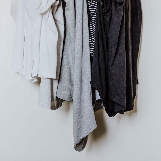 Hängenden Shirts für die Connemara Material Kategorie Jersey